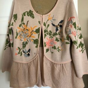 Anthropologie cardigan -new without tags